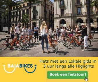 fietsen in valencia banner