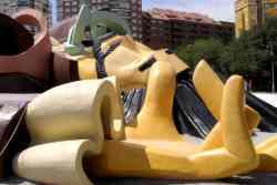 klimmen op Gulliver in turba park